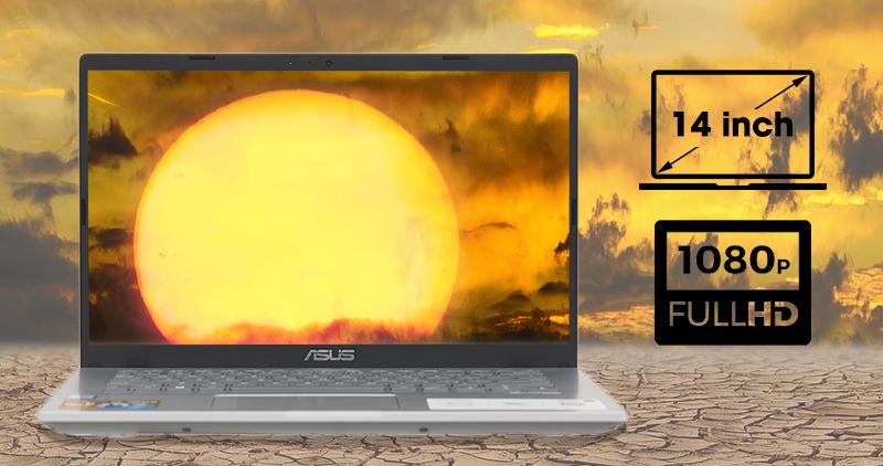Laptop Asus Vivobook X409F đem đến hình ảnh rõ nét, màu sắc chân thực