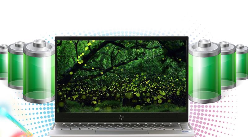 HP Envy 13 aq0026TU thời lượng pin trâu
