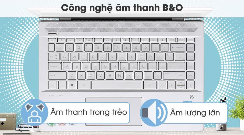 Âm thanh B&O trên laptop HP Pavilon 14 ce2035tu i3  (6YZ18PA)