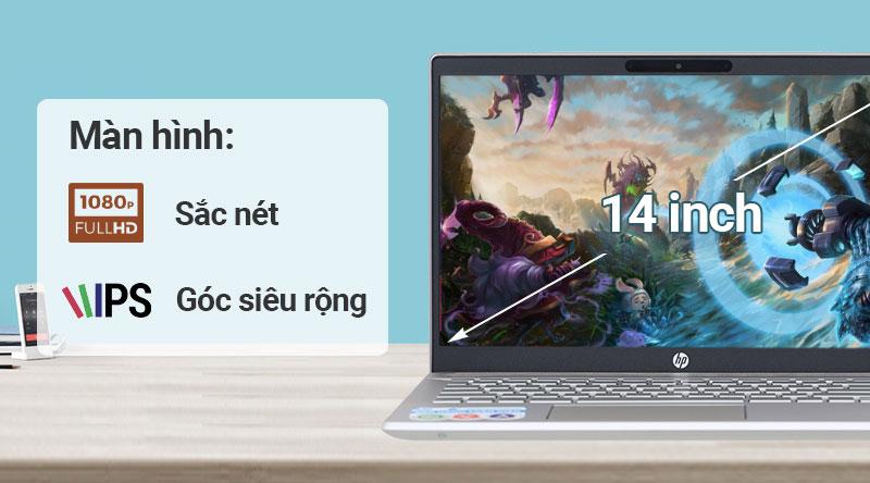 Màn hình laptop HP Pavilon 14 ce2035tu i3(6YZ18PA)