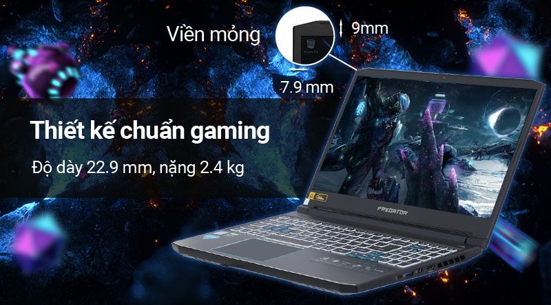 Acer Predator Helios 300 Ph315 Gia Rẻ Trả Gop