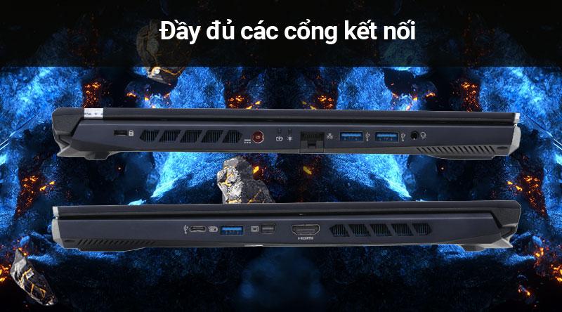 Laptop Acer Predator Helios 300 PH315 (NH.Q53SV.008) có nhiều cổng kết nối