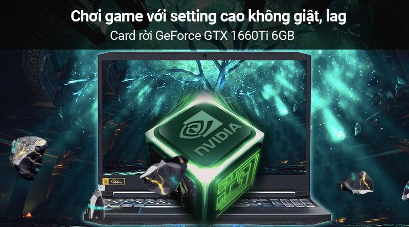 Laptop Acer Predator Helios 300 PH315 52 78HH i7/9750H/8GB/256GB/ RTX2060/Win10 (NH.Q53SV.008) có card đồ họa rời