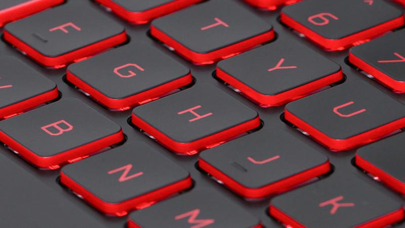 Bàn phím có đèn nền trên Laptop Acer Nitro AN515