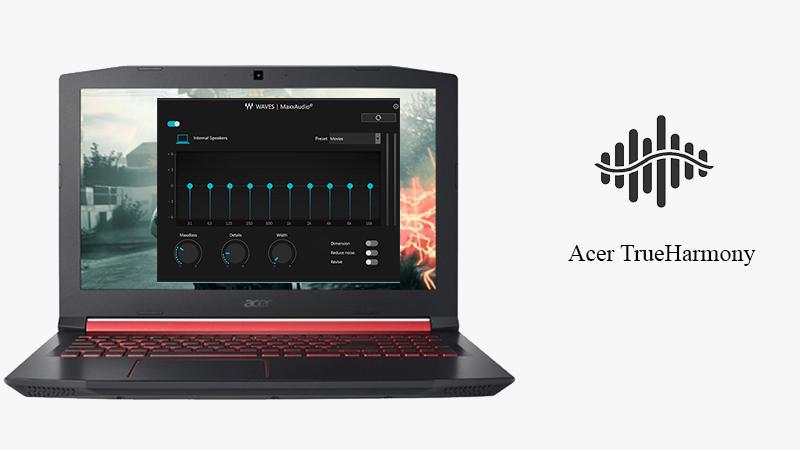 Âm thanh laptop Acer Nitro AN515