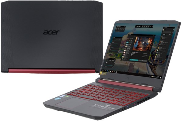 Laptop Acer Nitro AN515 54 71HS i7 9750H/8GB/256GB/4GB GTX1650/Win10 (NH.Q59SV.018)
