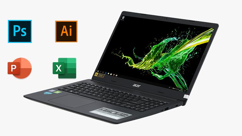 Cấu hình laptop Acer Aspire A315