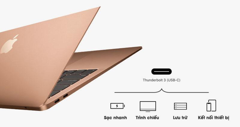 Kết nối laptop MacBook Air 2019 i5