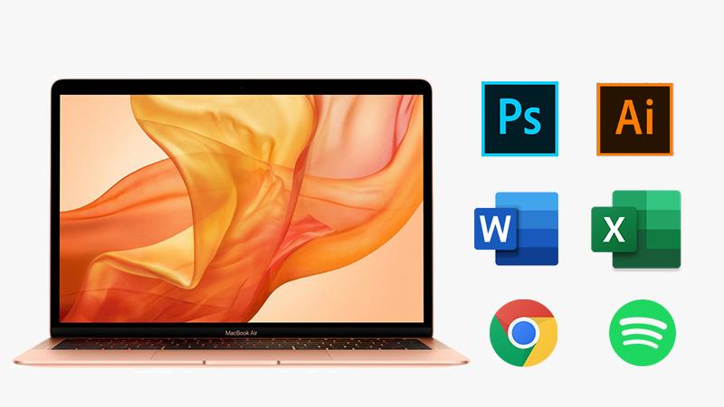 Cấu hình laptop MacBook Air 2019 i5