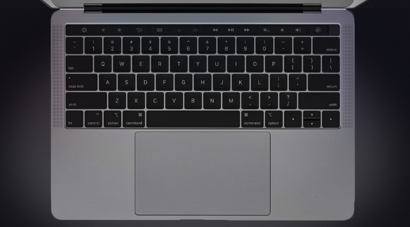 Laptop Apple MacBook Pro Touch 2019 i5 (MUHN2SA/A) với bàn phím cánh bướm thế hệ thứ 4