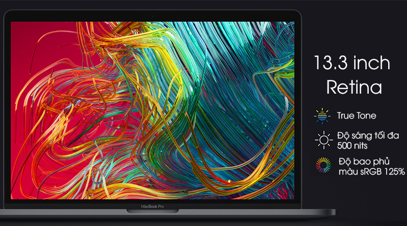 Laptop Apple MacBook Pro Touch 2019 i5 (MUHN2SA/A) màn hình Retina