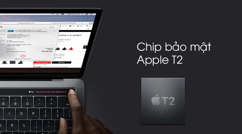 Bảo mật trên Laptop Apple MacBook Pro Touch 2019 i5 (MUHN2SA/A)