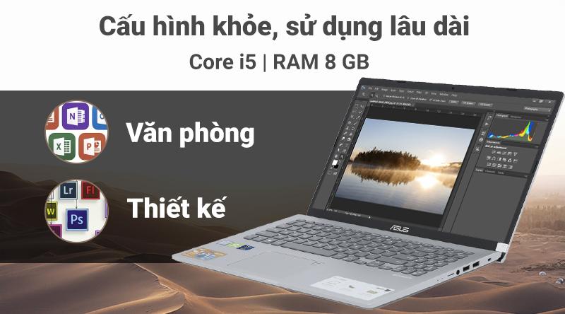 Laptop ASUS VivoBook X509FJ i5 (EJ132T) có cấu hình mạnh