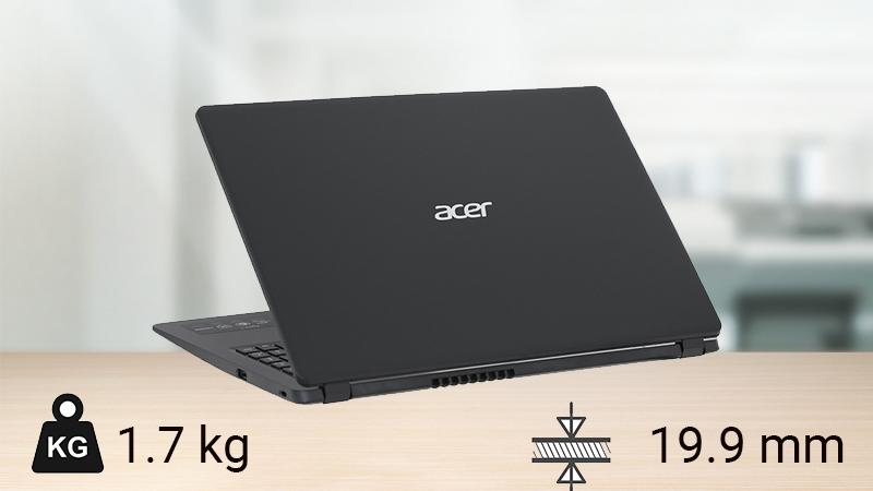 Thiết kế laptop Acer Aspire 3 A315 5457PJ i3