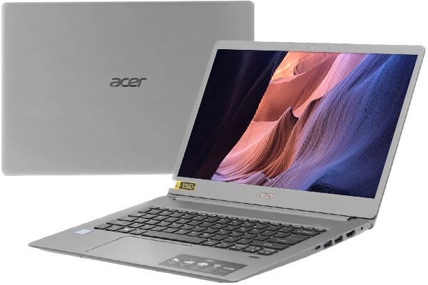 Laptop Acer Swift 5 SF514 53T 740R i7 8565U/8GB/256GB/Touch/Win10 (NX.H7KSV.002)