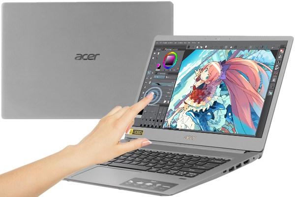 Laptop Acer Swift 5 SF514 53T 740R i7 8565U/8GB/256GB/Touch/Win10 (NX.H7KSV.002)