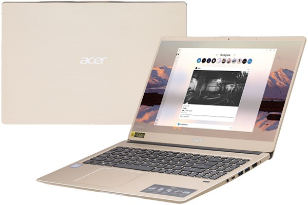 Laptop Acer Swift 3 SF315 52 38YQ i3 8130U/4GB/1TB/Win10 (NX.GZBSV.003)
