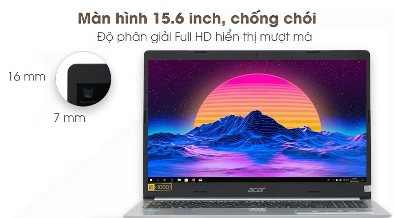 Laptop Acer Aspire A515 54 59KT hình ảnh hiển thị mượt mà