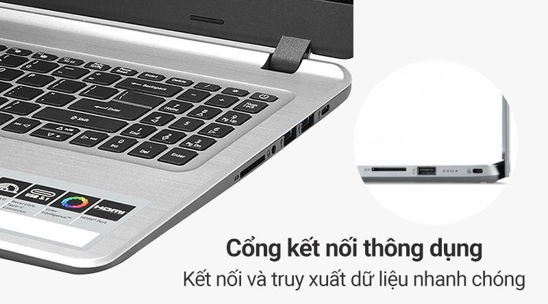 Laptop Acer Aspire A515 54 59KT được hỗ trợ đầy đủ