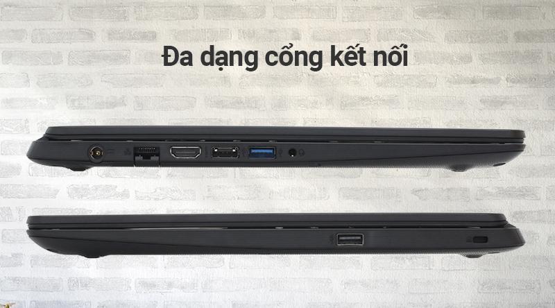 Cổng kết nối Laptop Acer Aspire A315 54 558R i5