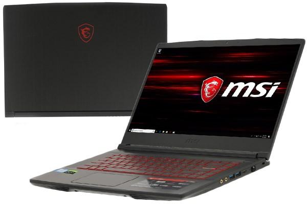Laptop MSI GF63 9RCX i5 9300H/8GB/512GB/4GB GTX1050Ti/Win10 (646VN)
