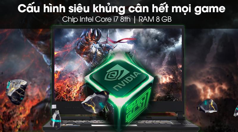 Laptop Asus ROG G531 cân hết mọi game