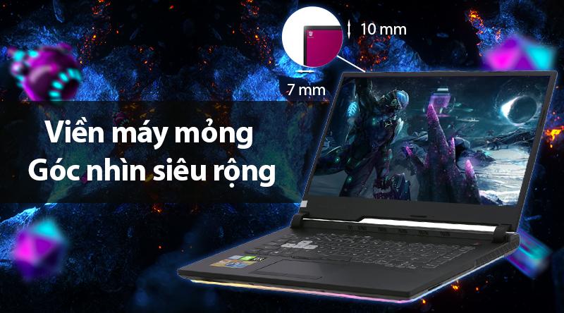 Laptop Asus ROG G531 cho không gian hiển thị chìm đắm