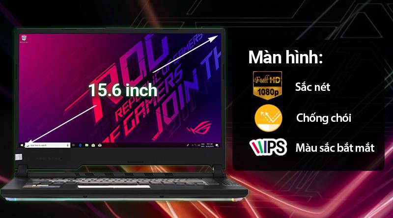 Laptop Asus ROG G531 cho hình ảnh sống động