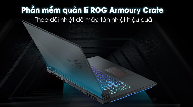 Laptop Asus ROG G531 tản nhiệt tốt