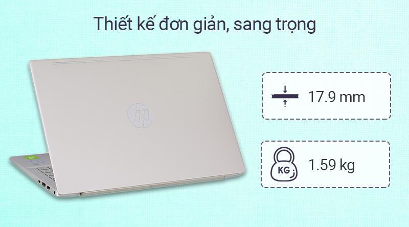 Laptop HP Pavilion 14 ce2100TX i5 (7YA48PA) sở hữu vẻ ngoài sang trọng