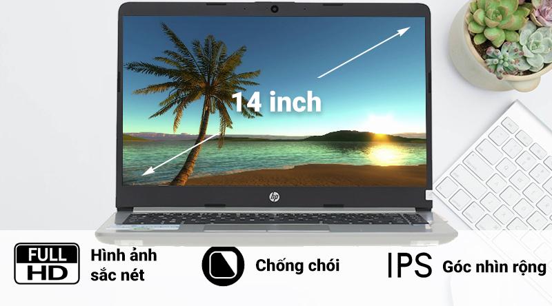 Laptop HP 348 G5 i3 có màn hình rộng 14 inch, Full HD mang đến những trải nghiệm tuyệt vời cho người dùng