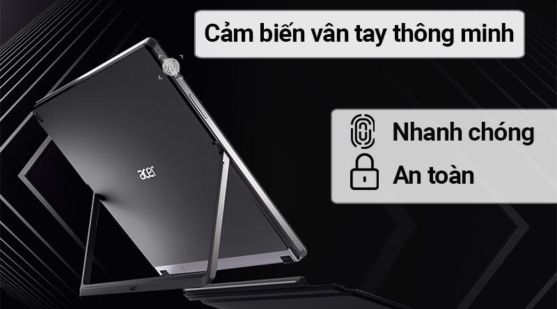 Bảo mật Acer Switch SW512 52P 34RS