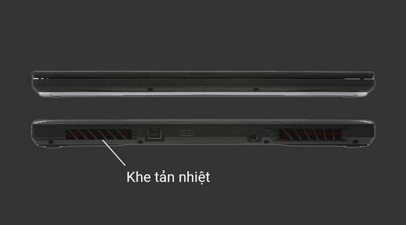 Laptop gaming ASUS ROG G531GD tản nhiệt hiệu quả