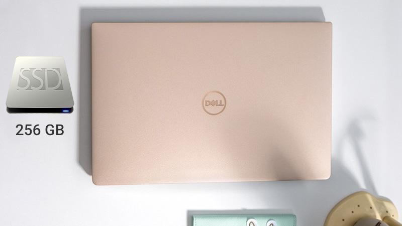Dell XPS13 ổ cứng SSD dung lượng 256 GB cho tốc độ xử lí dữ liệu nhanh hơn.