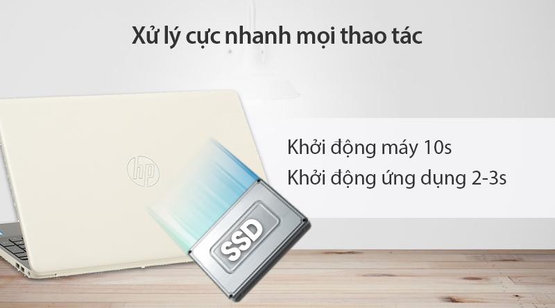 Laptop HP 15s du0107TU i5 (8EC94PA) khởi động cực nhanh