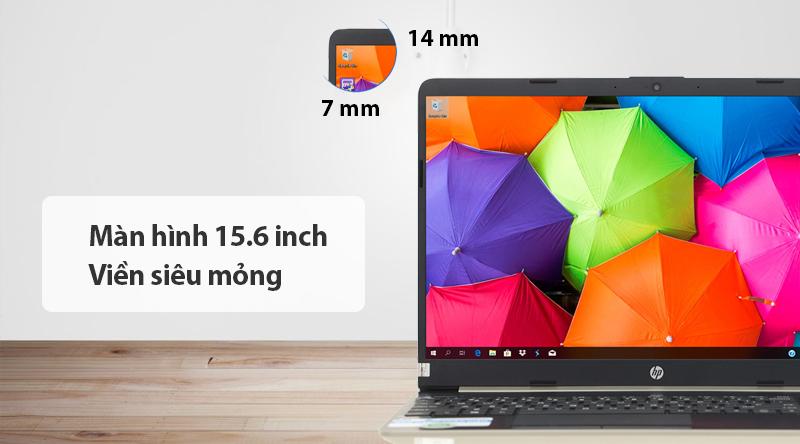 Laptop HP 15s du0107TU i5 (8EC94PA) kích thước màn hình lớn