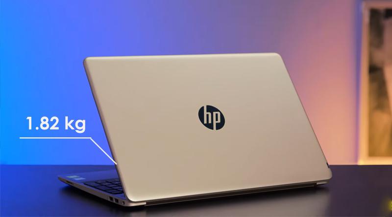 Laptop HP 15s du0070TX thiết kế đơn giản, sang trọng
