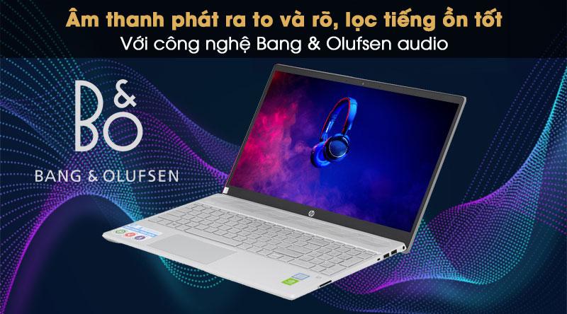 HP Pavilion 15 cs2120TX cho âm thanh sôi nổi