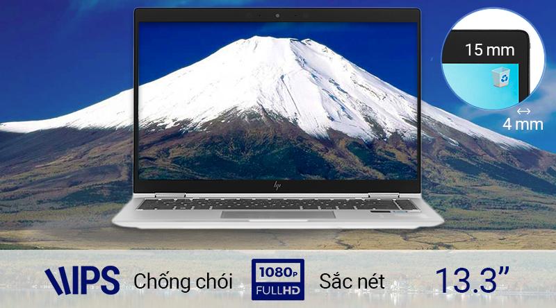 Laptop cao cấp HP EliteBook  sở hữu màn hình góc rộng 13.3 inch IPS