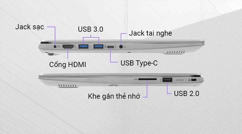 Laptop Acer Swift 3 SF314 dễ dàng thực hiện các thao tác truy xuất dữ liệu
