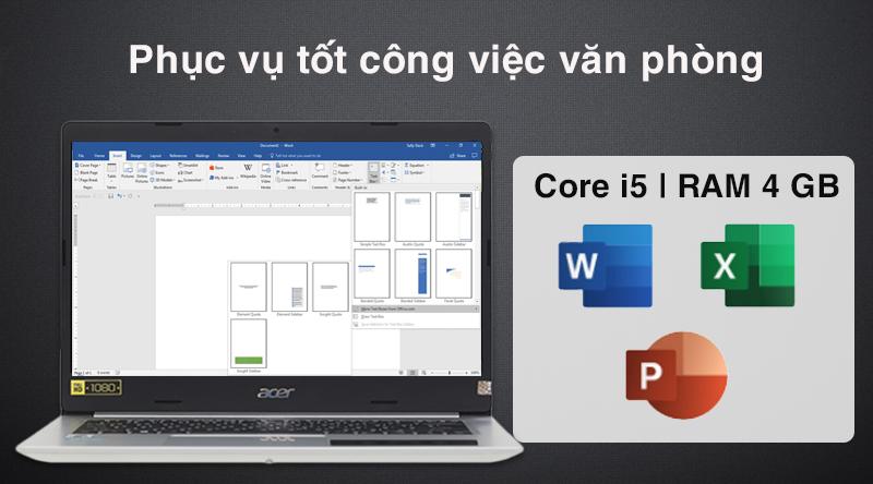 Laptop Acer Aspire A514 52 516K cấu hình ổn định