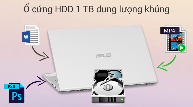 ASUS VivoBook X509U dung lượng cực khủng