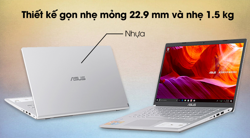 Thiết kế của Laptop Asus Vivobook X409FA