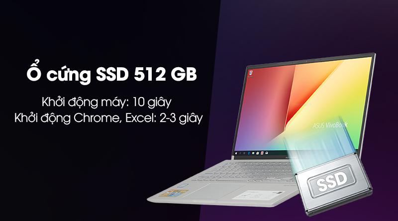 Laptop Asus VivoBook S15 S531FA khởi động cực nhanh