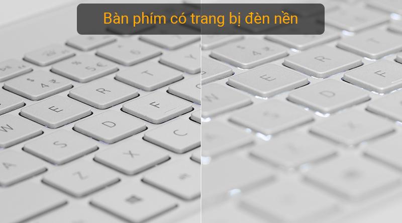 Laptop Dell Inspiron 7591 có trang bị đèn nền