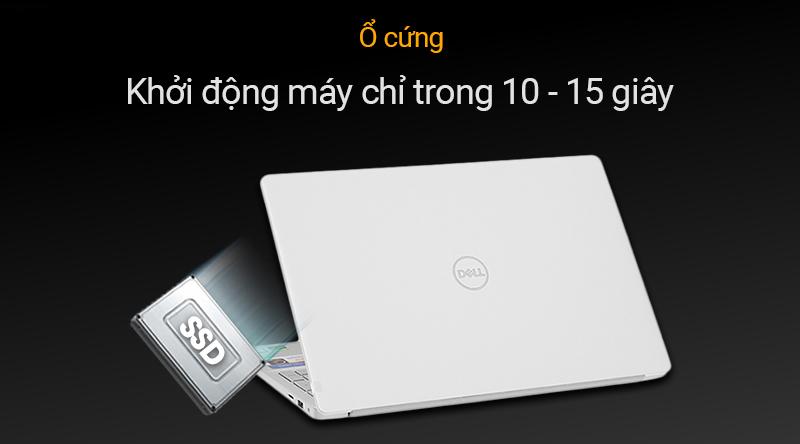 Laptop Dell Inspiron 7591  có thể khởi động chỉ trong 10-15 giây