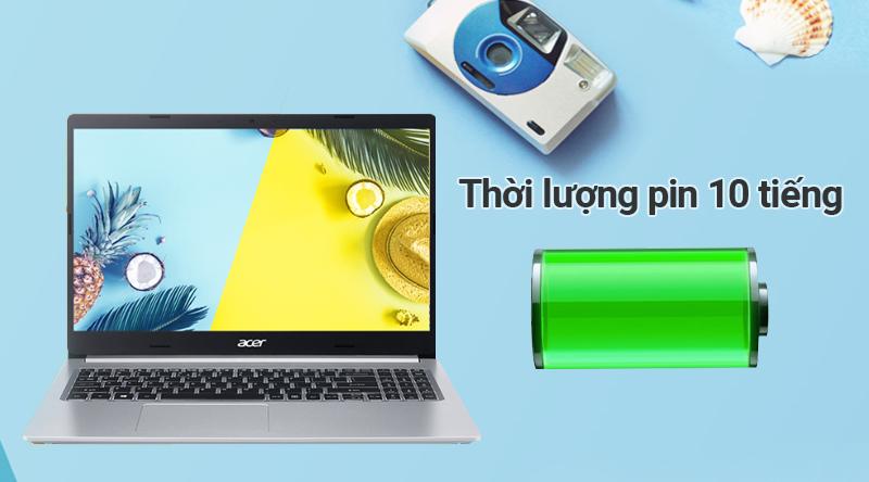 Laptop Acer Aspire A515 54 54EU pin kéo dài 10 tiếng
