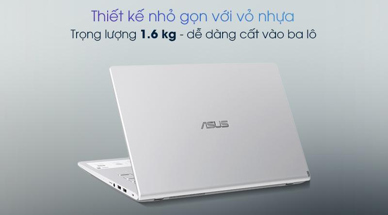 Laptop được làm từ chất liệu nhựa