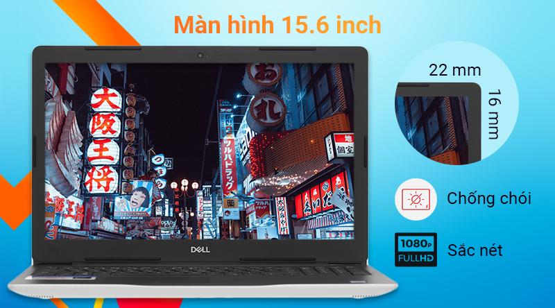 Dell Inspiron 3581 Màn hình Full HD, kích thước 15.6 inch