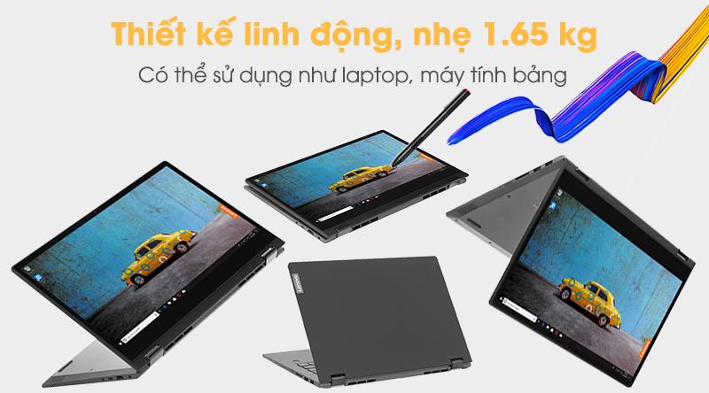 Lenovo IdeaPad C340 dễ dàng được cất gọn vào ba lô, túi xách